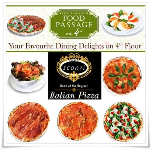 งานพาร์ทไทม์ ร้านพิซซ่า Scoozi Pizzaria เปิดรับสมัครพนักงานใหม่