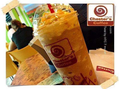 เเนะนำงาน 2558 งาน part time ร้านกาแฟ Chester's Coffee ชั่วโมงละ 45 บาท สาขาใกล้บ้านท่าน