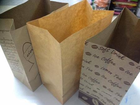 หางานทําที่บ้าน งานพับถุงกระดาษ ถุงกาแฟ ทำเป็นรายได้เสริม รายได้พิเศษ