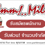 งาน part time umm milk