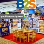 งาน part time ร้านหนังสือ พนักงานประจำ B2S ทุกสาขา ช่วงปีใหม่ เริ่มงาน 12 ธ.ค.58 - 3 ม.ค. 59