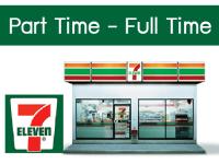 งาน Part Time - Full Time ประจำร้าน 7-11 หลายอัตรา