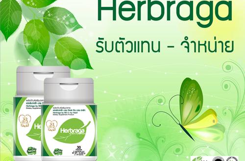 เปิดรับตัวแทนจำหน่าย สมุนไพรไทย Herbraga