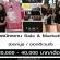 รับสมัครงาน Sale & Marketing (20,000-40,000 บาท/เดือน)