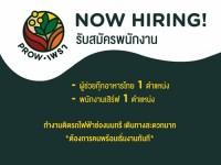 รับสมัครพนักงานร้านอาหารไทย