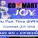 งาน Part Time นักศึกษา ในงาน Commart JOY 2018