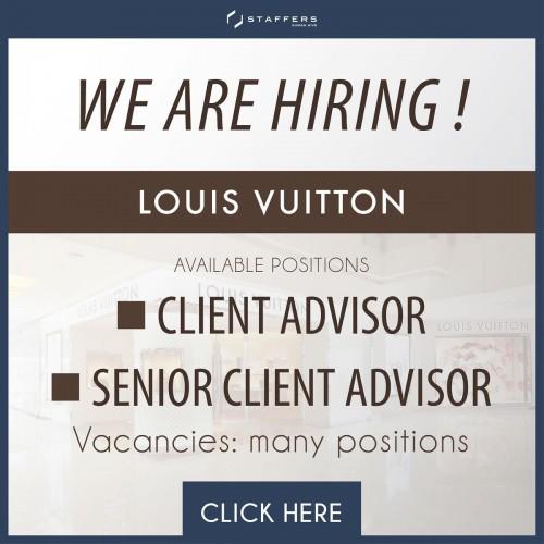 Louis Vuitton เปิดรับสมัครพนักงานขาย