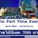 งาน Part Time Event (ลงทะเบียน,ประสานงาน) วันละ 700 บาท