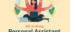รับสมัครผู้ช่วยส่วนตัว (Personal Assistant)